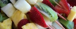 Turrones y Mazapanes- Fruta con turrón