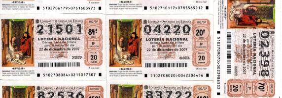 Turrones y Mazapanes - La lotería de Navidad se empieza a vender en verano (para que no lleguemos tarde)